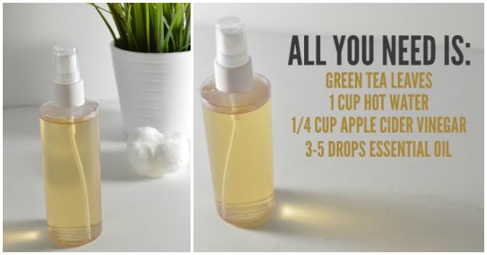 All-Natural DIY Skin Toner