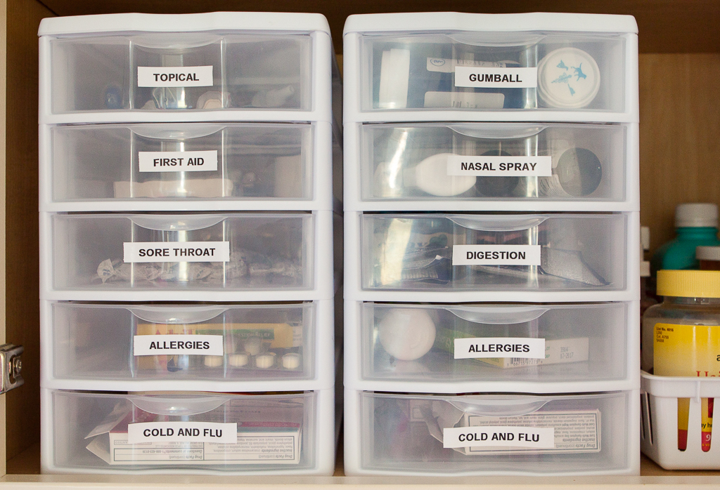 15 Ideas For A Clutter Free Medicine Cabinet