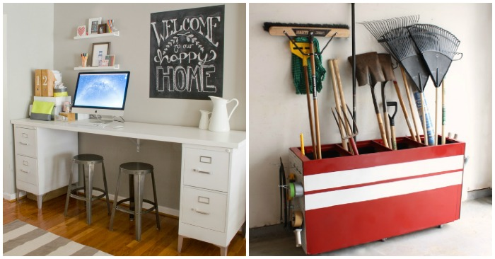 15 Ways to Make Over an Ugly File Cabinet