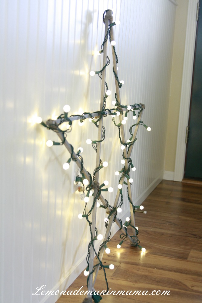 Christmas Decorations Outdoor Star : Sparkling indoor christmas lighting ideas