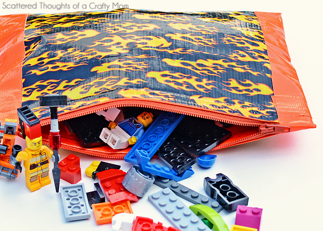 no-sew-zippered-pouch