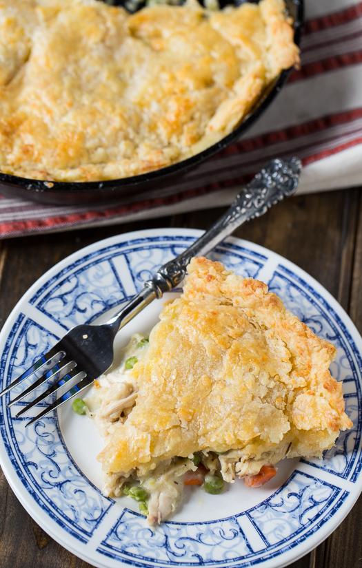 one-dish-chicken-pot-pie-with-cheddar-crust