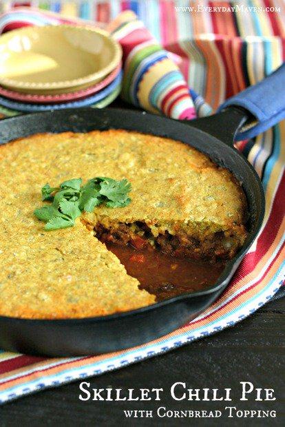 skillet-chili-pie