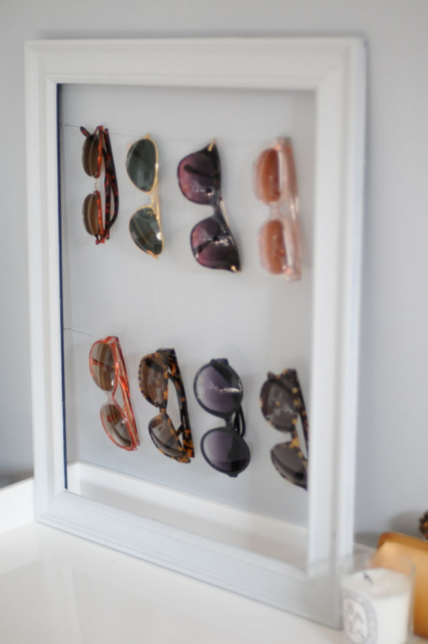 15 pin worthy picture frame project ideas - Simple ways of keeping your home organized using magnetic picture frames ...