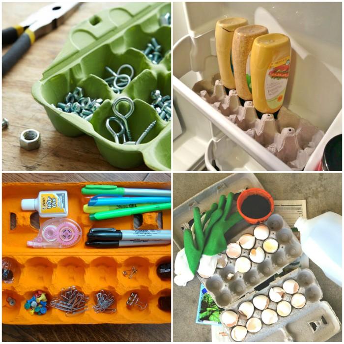 Smart Ways to Use Egg Cartons