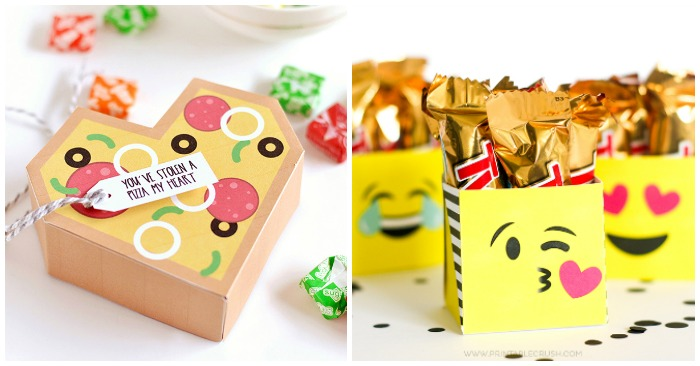 19 Free Printable DIY Gift Boxes For Fast Gift Wrapping