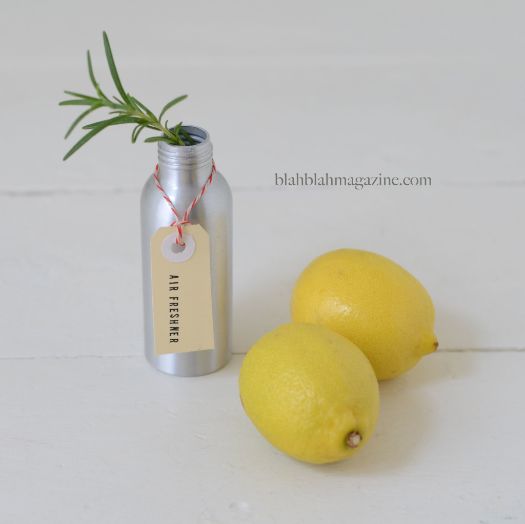 lemon-and-rosemary DIY air fresheners