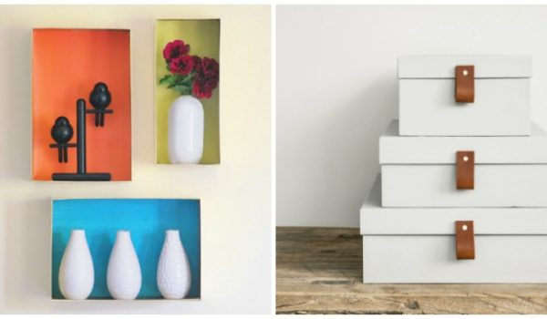 16 Outside the Box Ways to Use Shoeboxes
