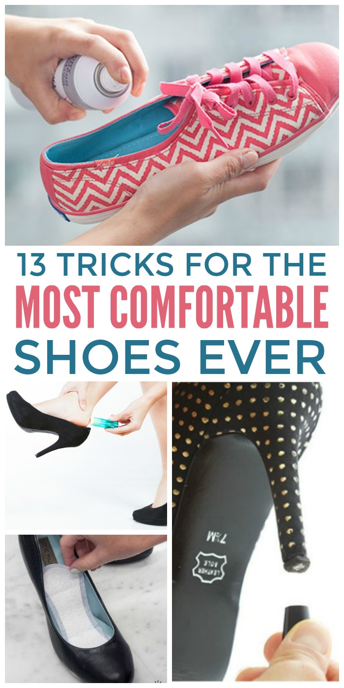 13 Tricks for the Most Comfortable Shoes Ever