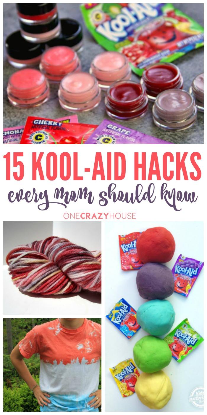 15 Kool-Aid Hacks Every Mom Should Know