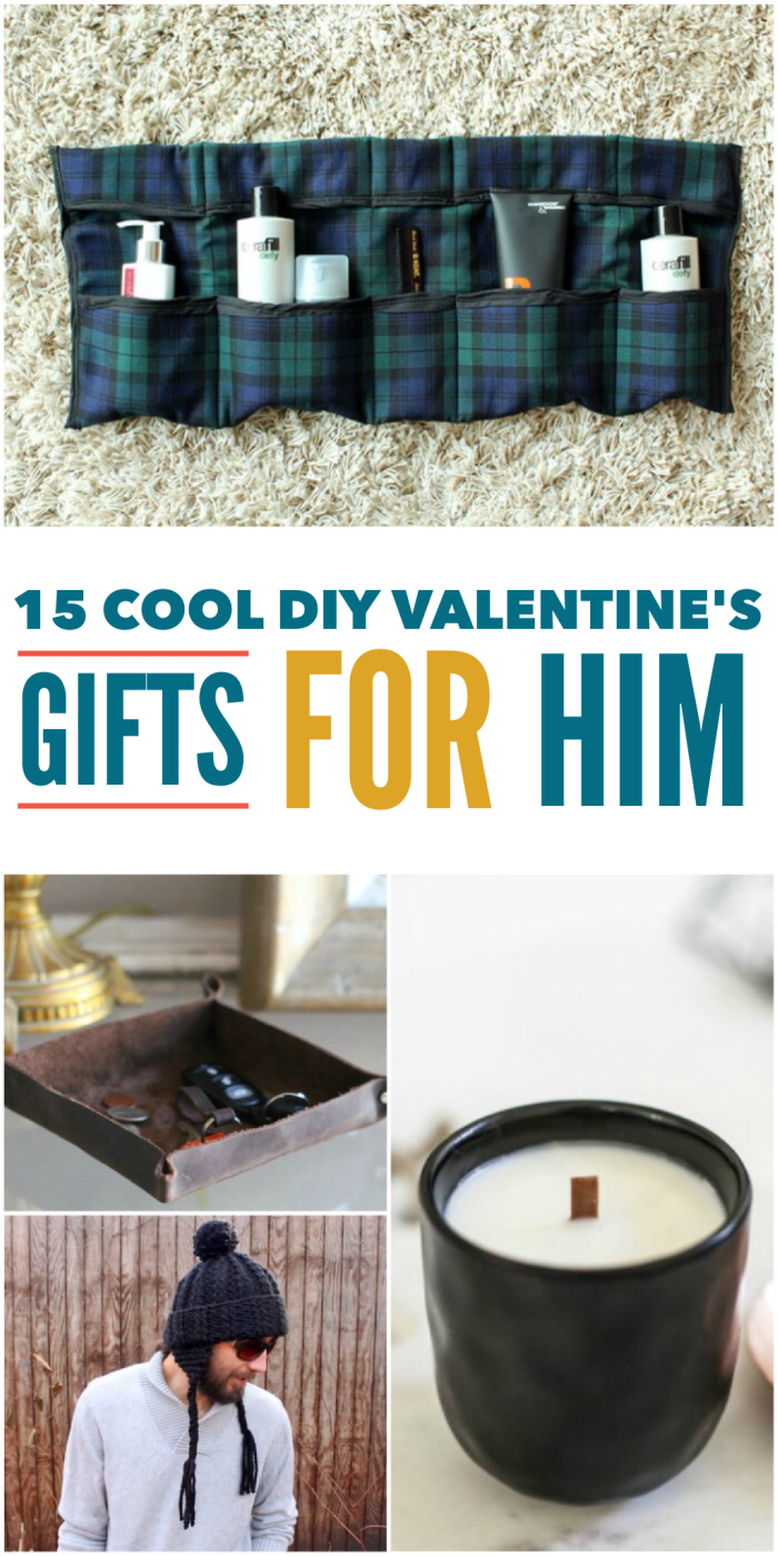 15 Cool Diy Valentine 39 S Day Gifts For Him