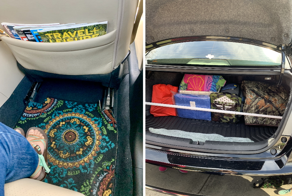 Organize the trunk of your car