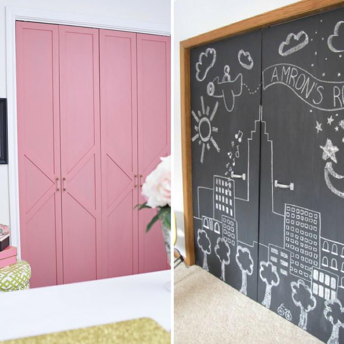 Closet Door ideas image collage