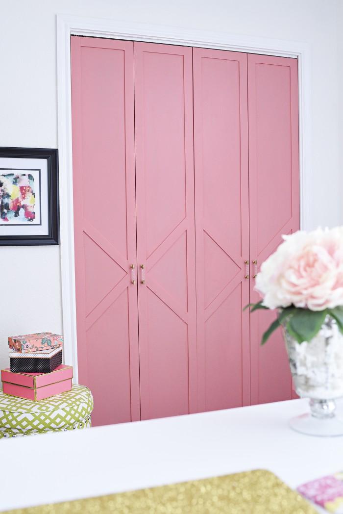 inexpensive closet door ideas - 18 Closet Door Makeovers That ll Give You Closet Envy
