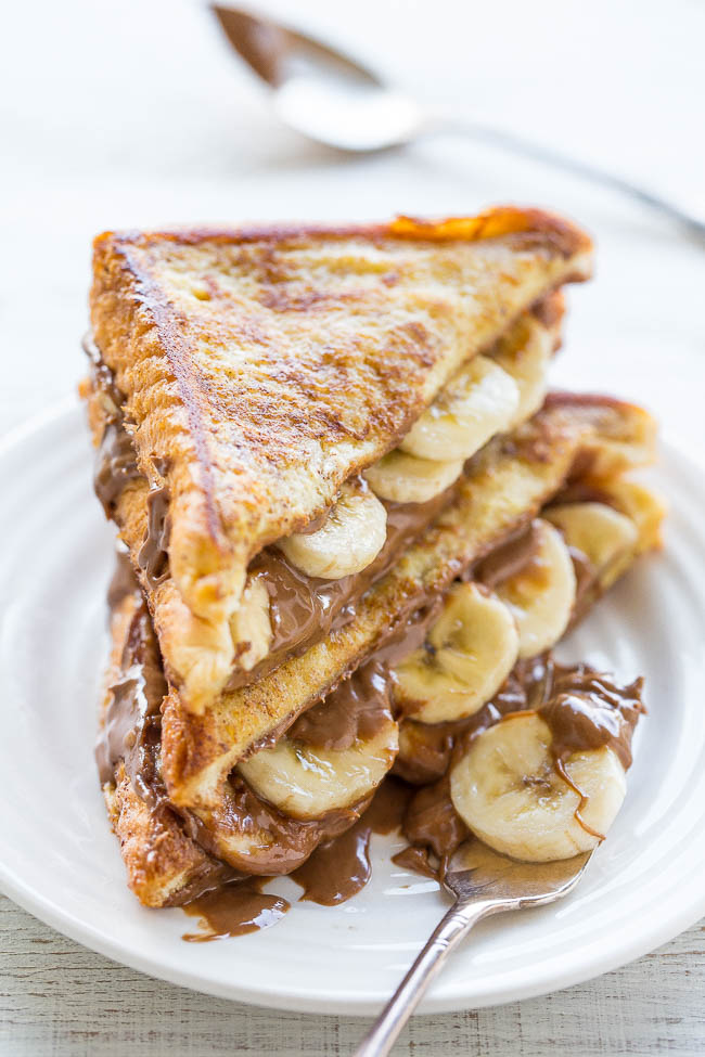 Caramel Banana French Toast is another excellent make-ahead breakfast ...