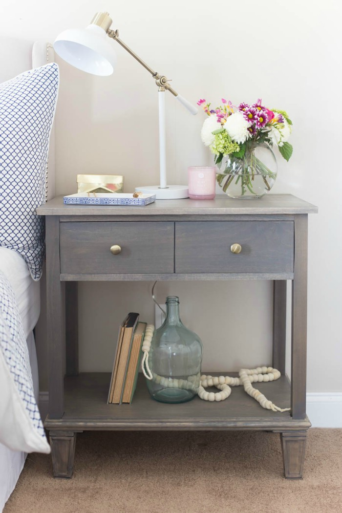 22 pottery barn hacks to furnish your home on the cheap for Cheap diy nightstand