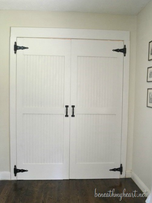 18 closet door makeovers that 39 ll give you closet envy - Interesting closet doors ideas types of doors you can use ...