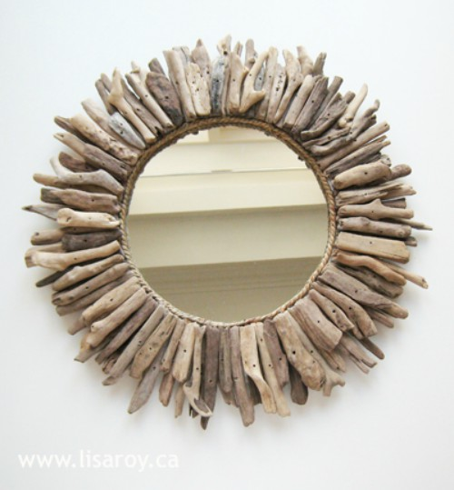 18 driftwood diy projects to give your home that beachy feel for Driftwood crafts to make