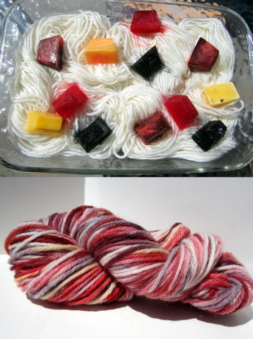dye-yarn
