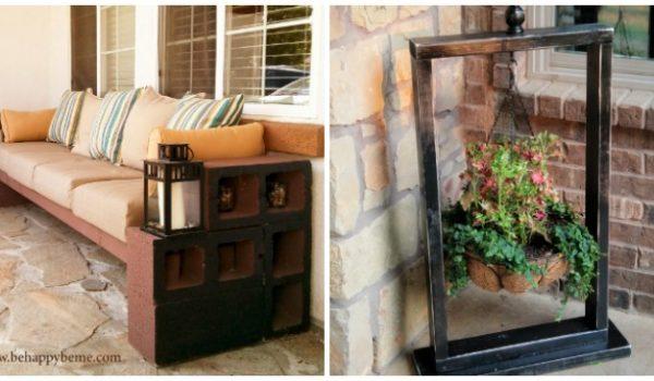 15 Fabulous Front Porch DIYs with Big Impact