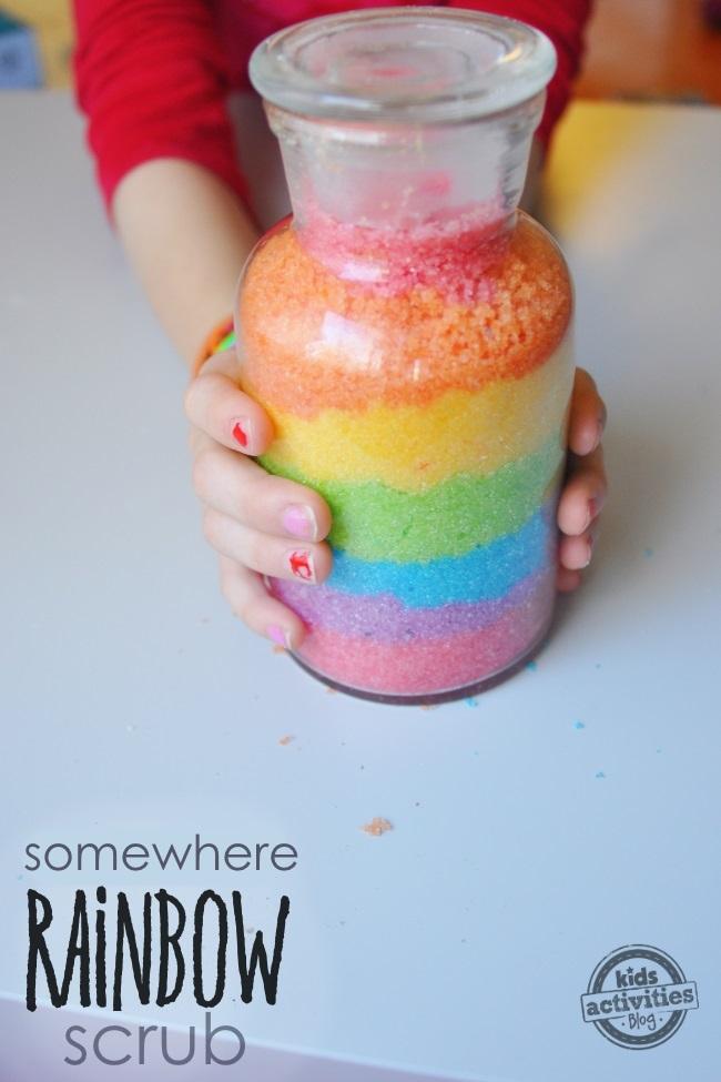rainbow-scrub