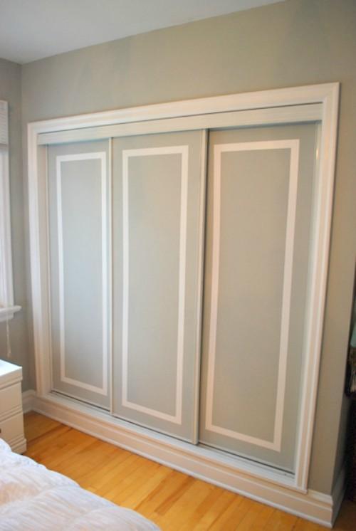 18 Closet Door Makeovers That Ll Give You Closet Envy