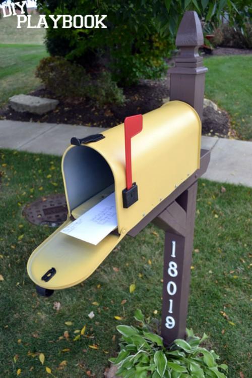 yellow-mailbox