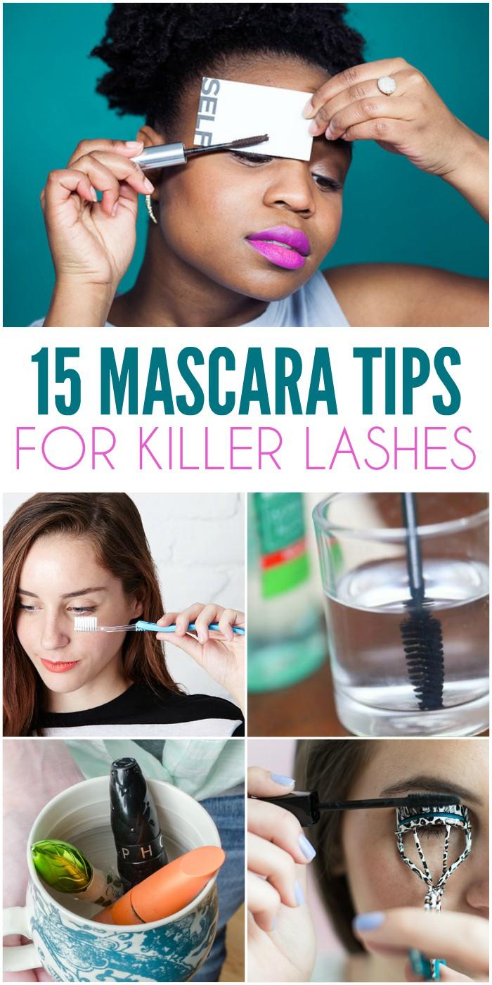 15 Mascara Tips and Tricks for Killer Lashes