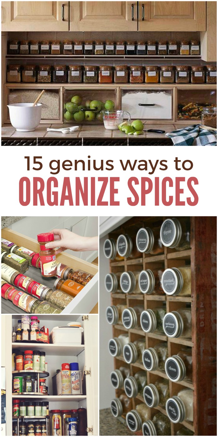 15 Genius Ways to Organize Spices