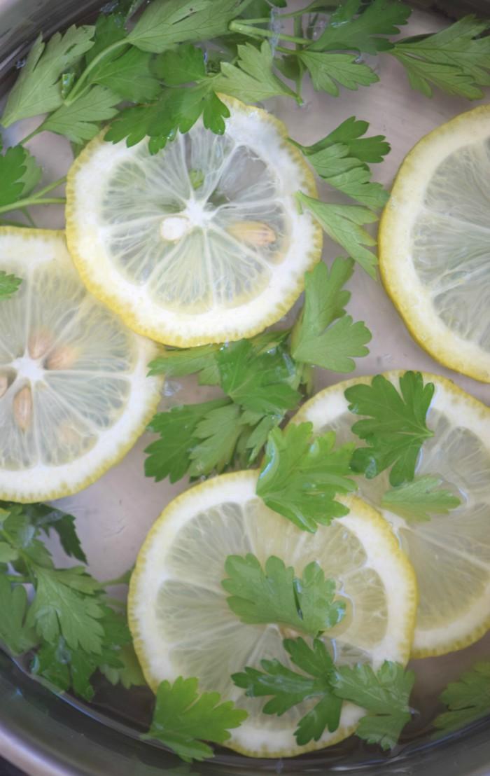 Lemon Parsley Air Freshener for the Kitchen