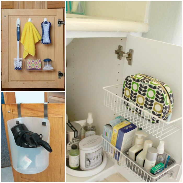 Popular  Cabinet Use Storage Space Under A Bathroom Sink For Extra Toiletries