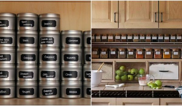 15 Genius Ways to Organize Your Spices
