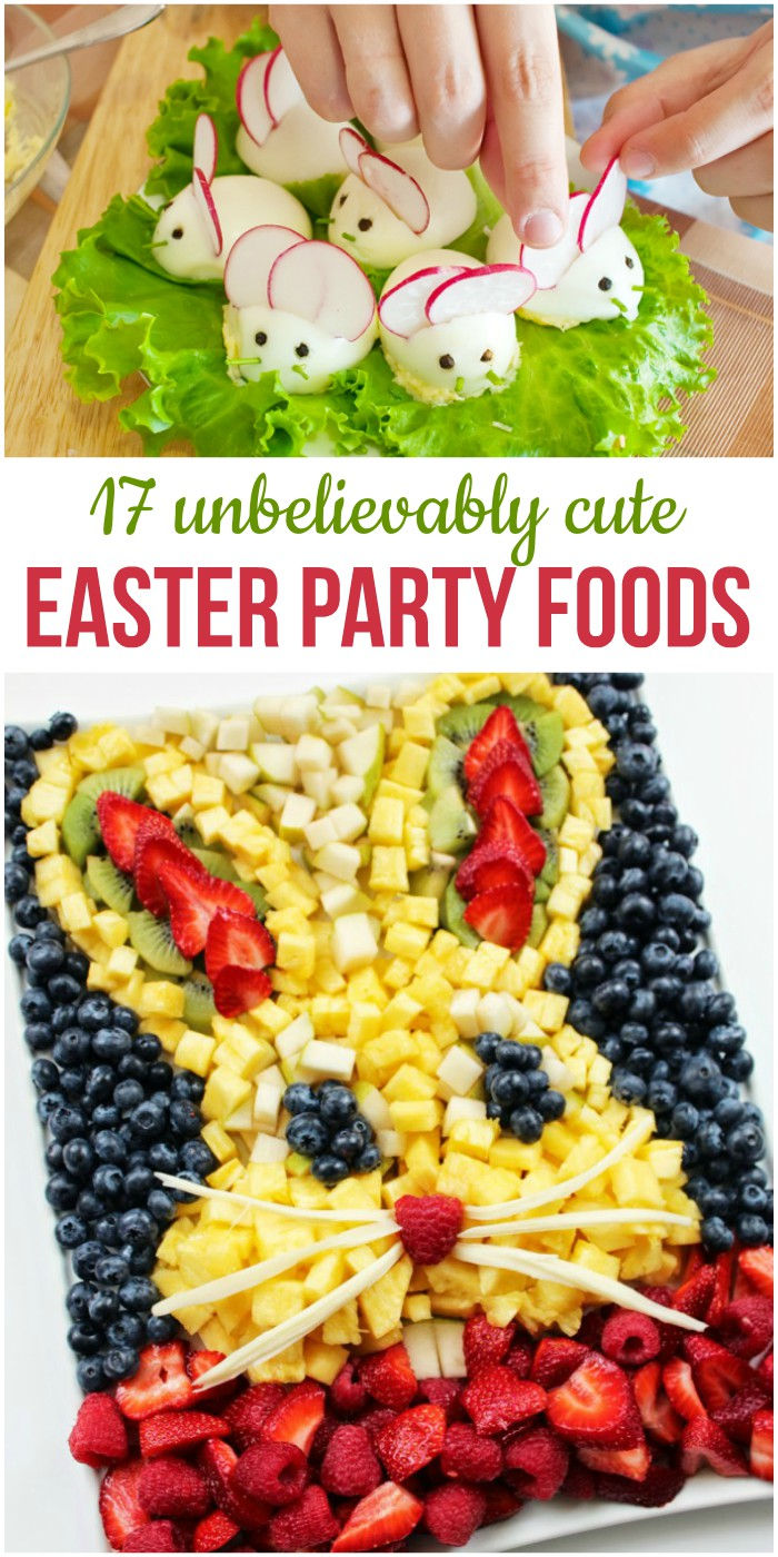 17 Unbelievably Cute Easter Party Foods