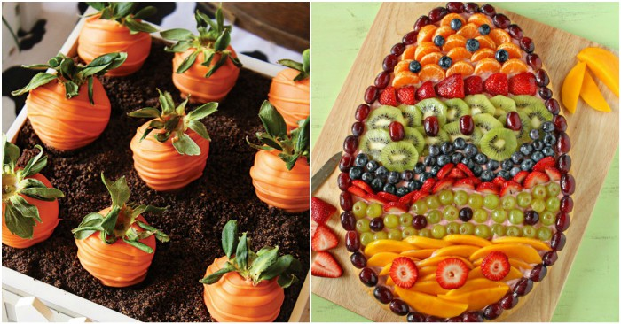 17 Unbelievably Cute Easter Party Foods For Your Brunch Or