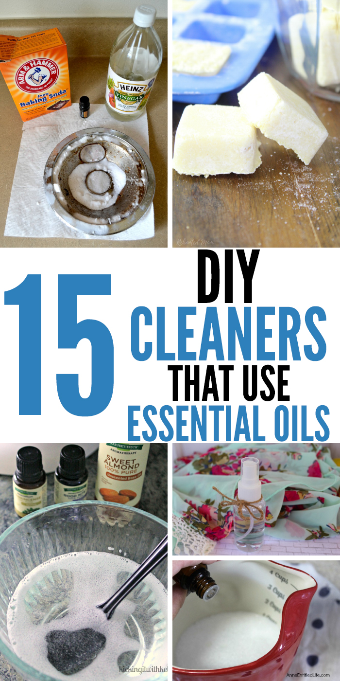 Make good use of your essential oils by making some DIY cleaners