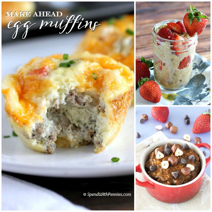 20 Easy Make Ahead Breakfast Recipes