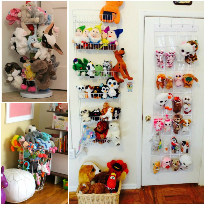 18 genius stuffed animal storage ideas. Black Bedroom Furniture Sets. Home Design Ideas