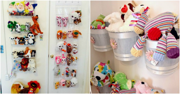 17 BEST Stuffed Animal Storage Ideas To Tame Those Toys