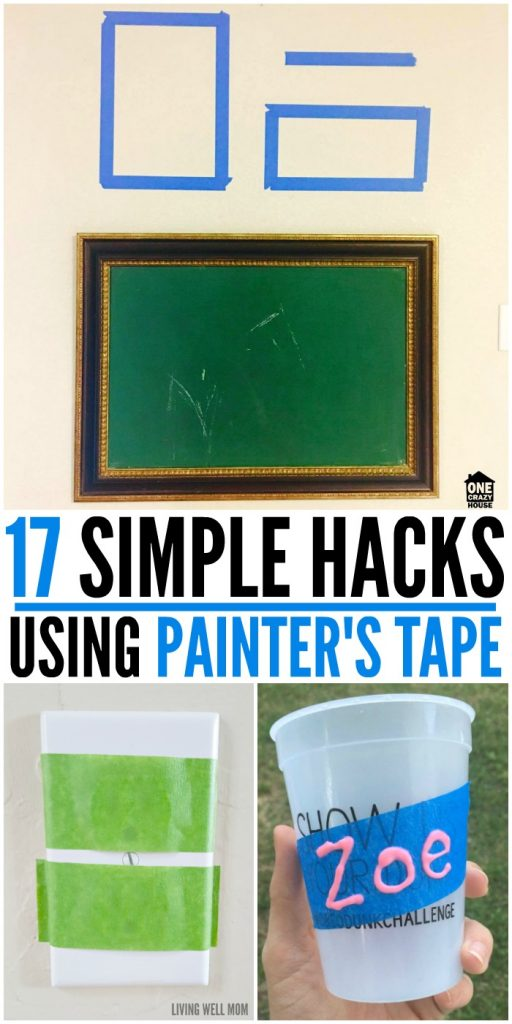 17 Simple Hacks Using Painter's Tape