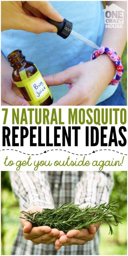 7 Natural Mosquito Repellent Ideas
