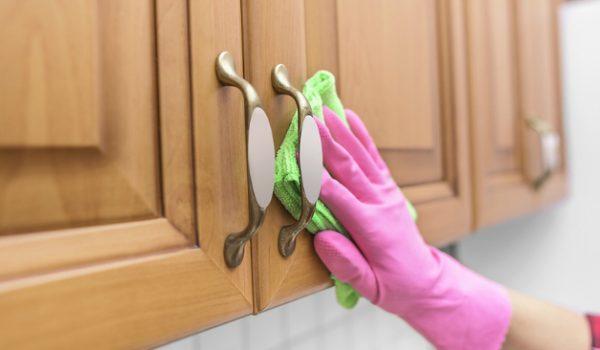 Best Way to Clean Wood Cabinets