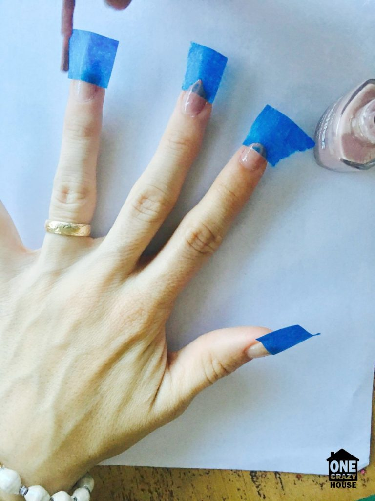 Painter's Tape Uses - Nail Art