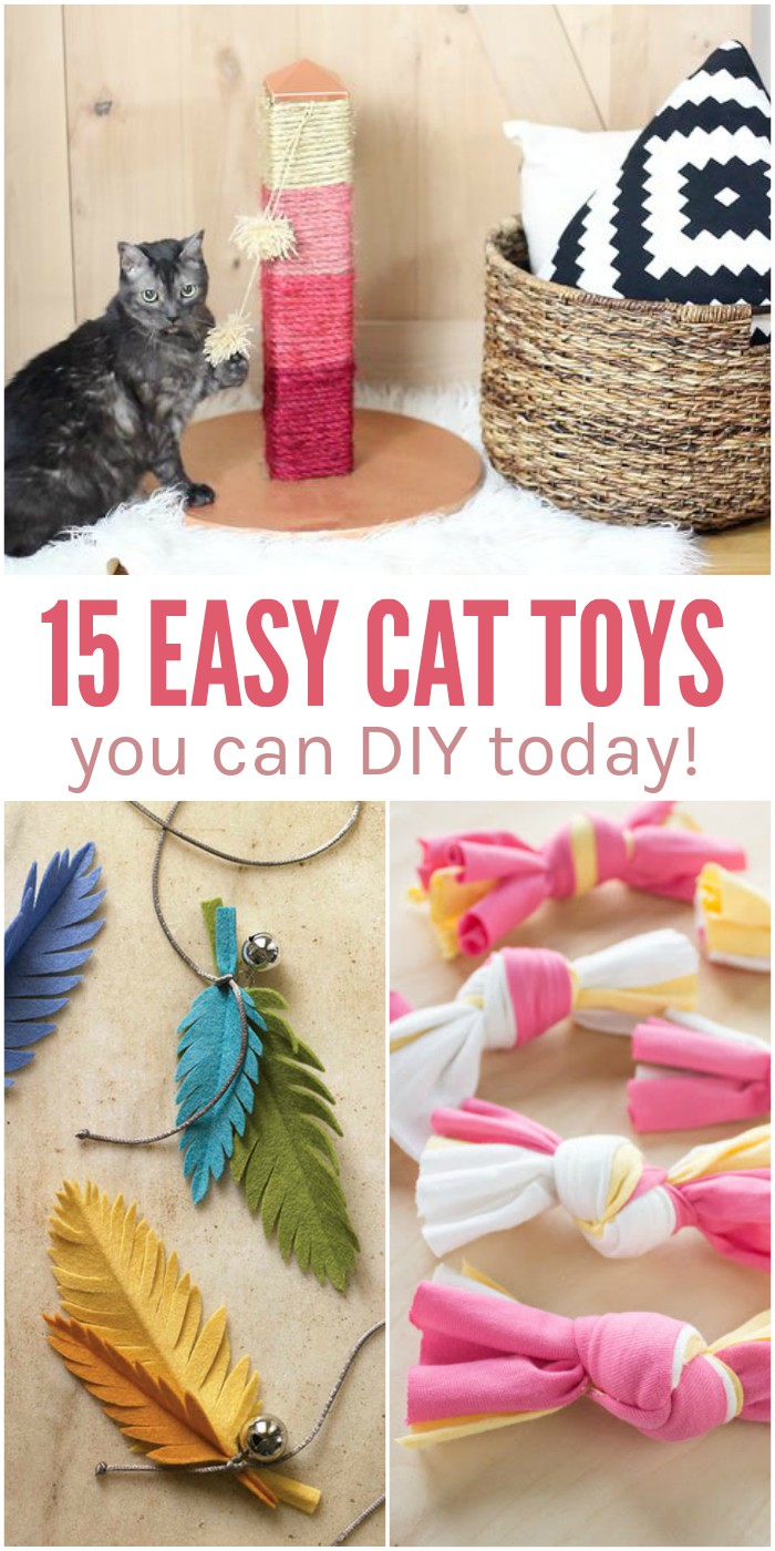 Sew Dog And Cat Toys