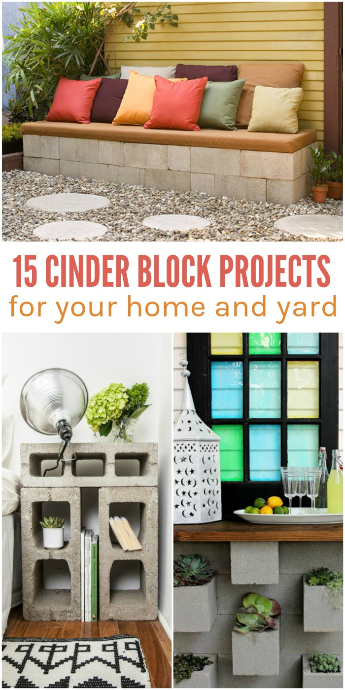 15 Simple Cinder Block Projects for Your Home and Yard