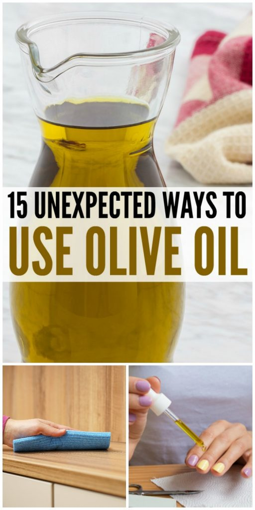 15 Unexpected Ways to Use Olive Oil - M