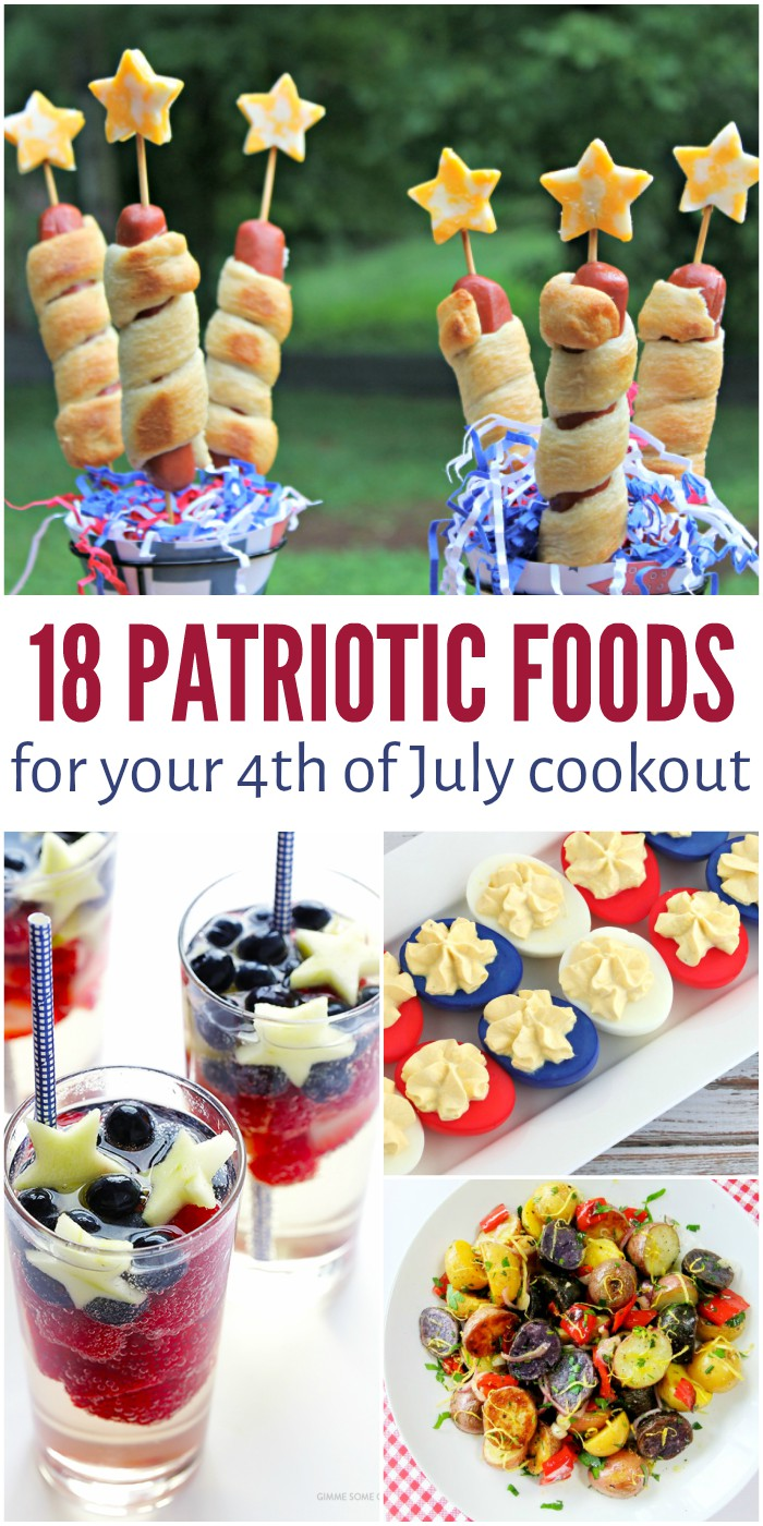 18 patriotic food ideas for your 4th of july cookout for July 4th food ideas
