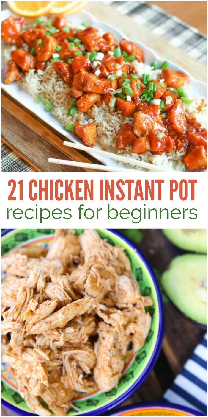 21 chicken instant pot recipes easy enough for beginners for Chicken recipes for the instant pot