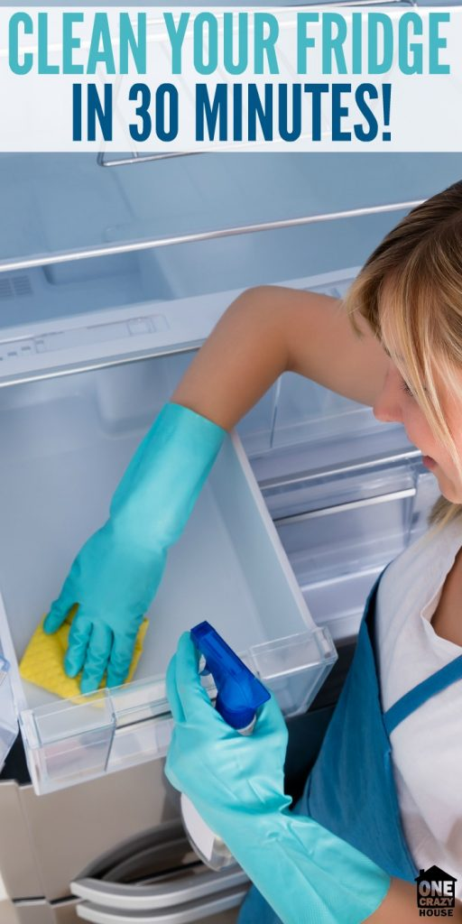 Clean Your Fridge In 30 Minutes