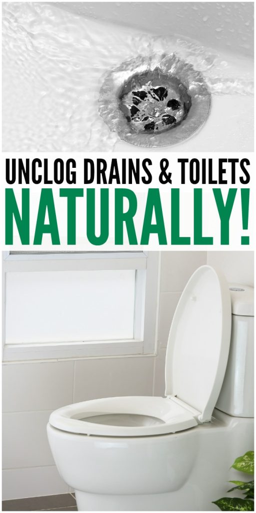 Go Chemical-Free, Unclog Drains & Toilets NATURALLY!