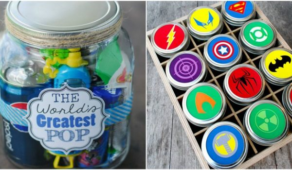 15 Mason Jar Gifts for Father's Day